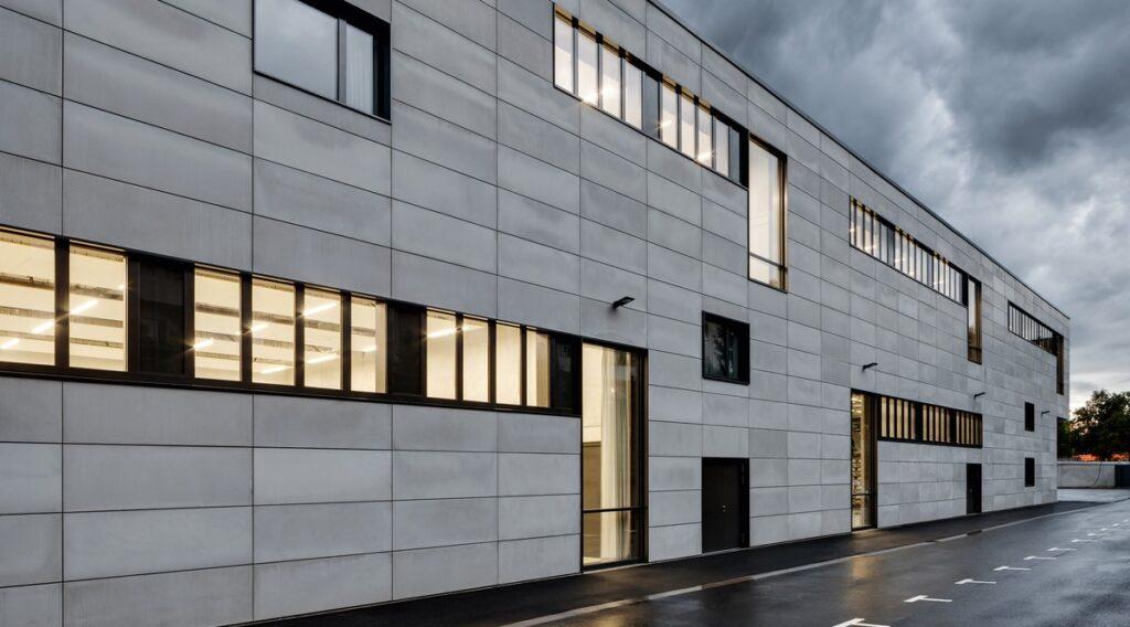 استفاده از بتن اکسپوز در نمای ساختمان