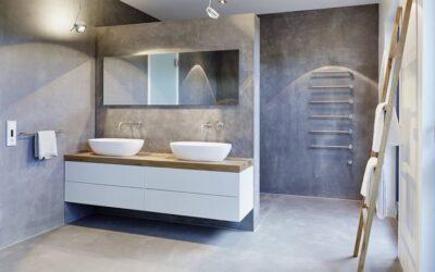 5 کاربرد مهم میکروسمنت در ساخت دستشویی و حمام + علل بکارگیری